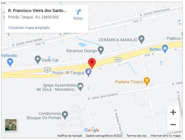 Rua Francisco Vieira dos Santos, Quadra 12 Lote 01, Chácaras Pinhão Tanguá - RJ